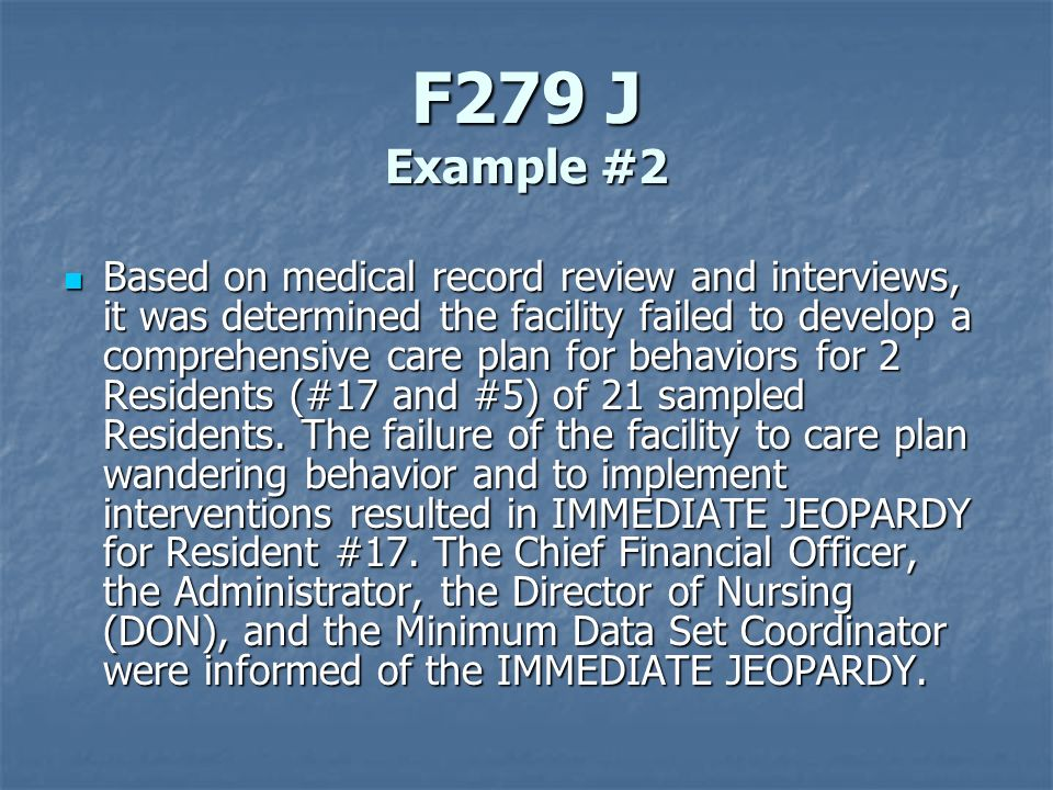 F279 J Example #2