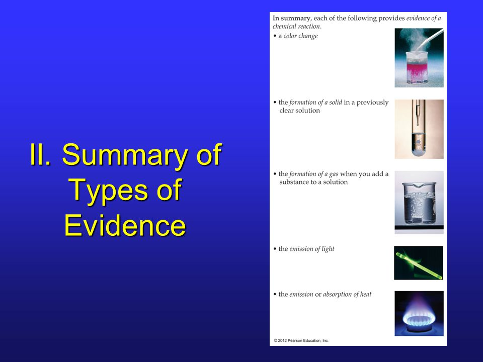 categories and types of evidence and Teaching strategies: all 3 kinds of evidence  there are seven broad categories of example interlocutors should remain aware of:  all three types of evidence can .