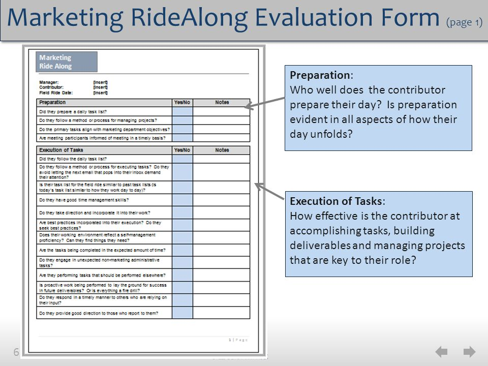Marketing RideAlong Best Practices  Ppt Video Online Download