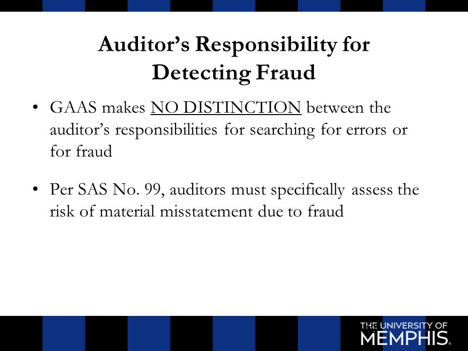auditor responsibility Responsibilities and functions of the independent auditor 1595 responsibility to the profession10 the independent auditor also has a responsibility to his profession, the.