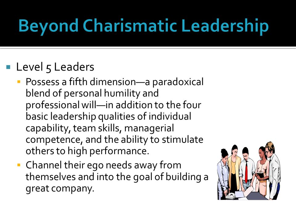 Beyond Charismatic Leadership