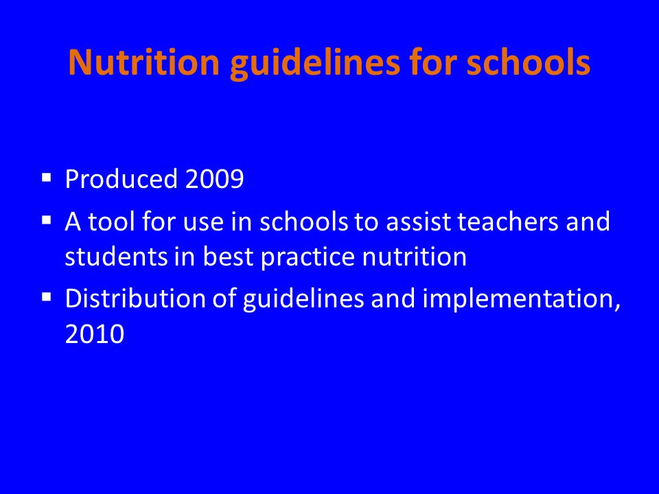 Best Practice In Nutrition And Food Service