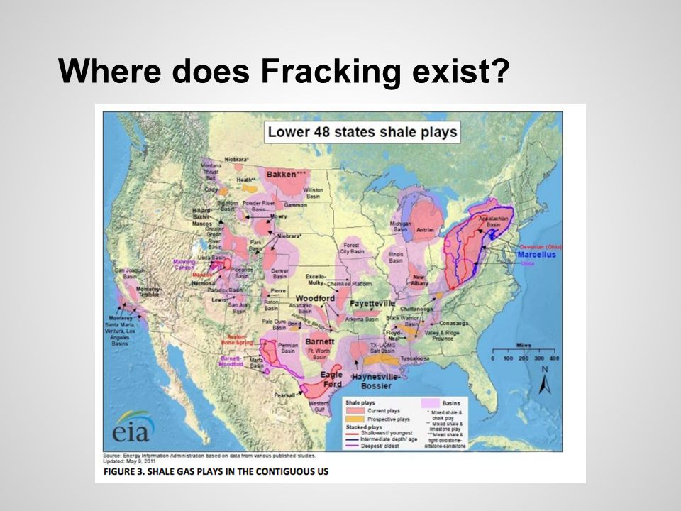 Where does Fracking exist
