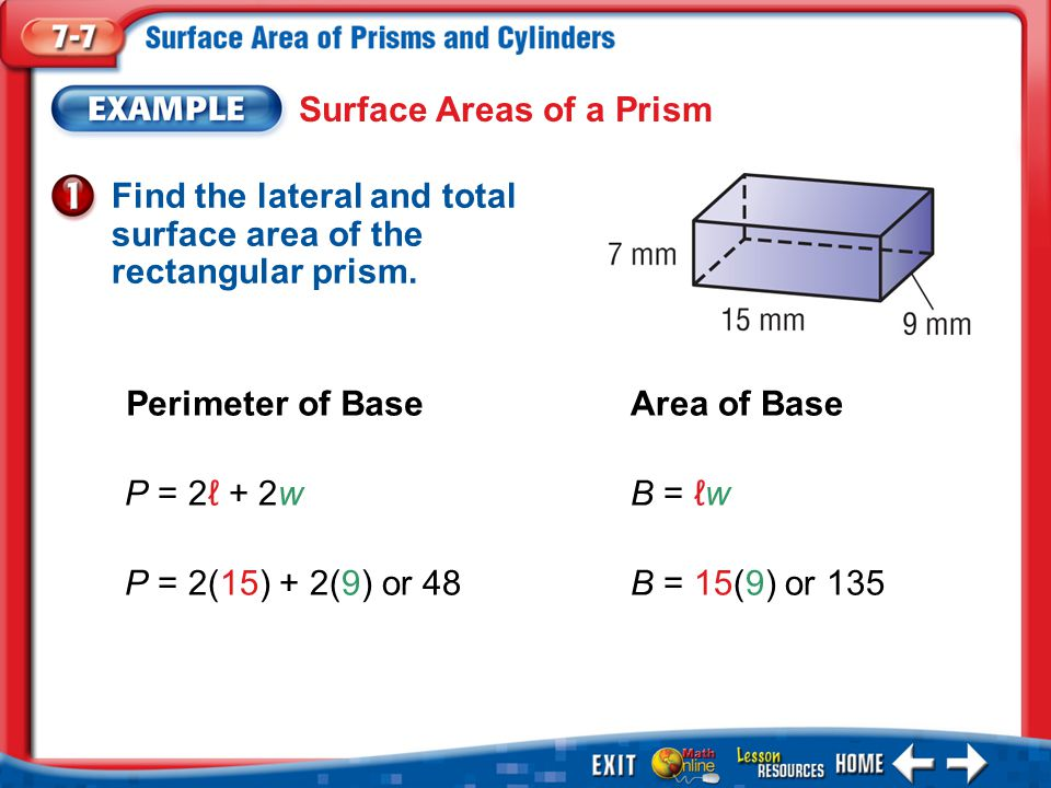 6-6 homework and practice volume of prisms and cylinders