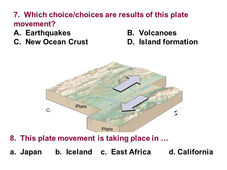 Plate Tectonics Ch Self Quiz Ppt Video Online Download