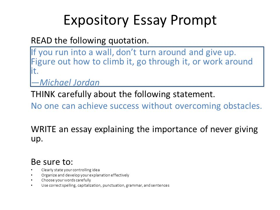 brainstorming and drafting ppt video online  expository essay prompt