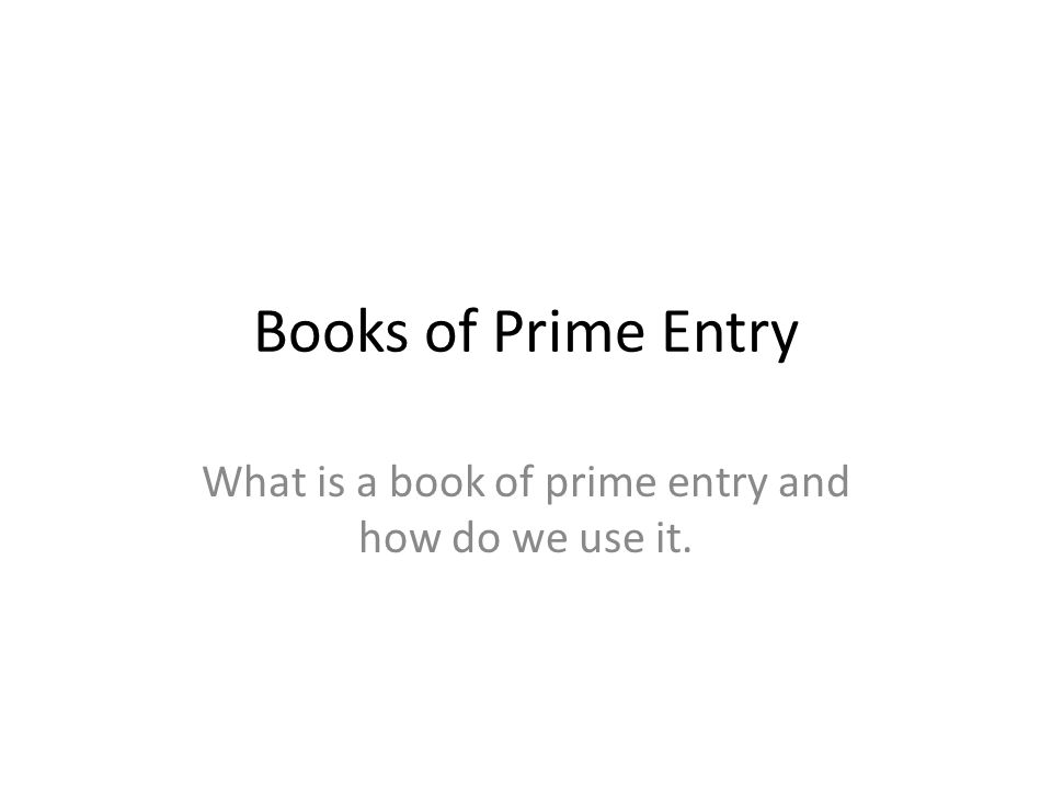 books of prime entry These are my revision notes for unit 1 of the aqa legacy paper updated versions are available to purchase as well for the new specification but th.