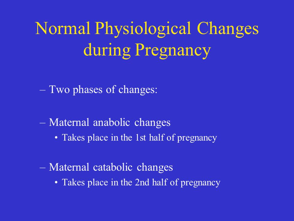 physiological changes in pregnancy pdf