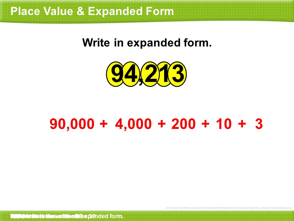Place Value Expanded Form Ppt Video Online Download