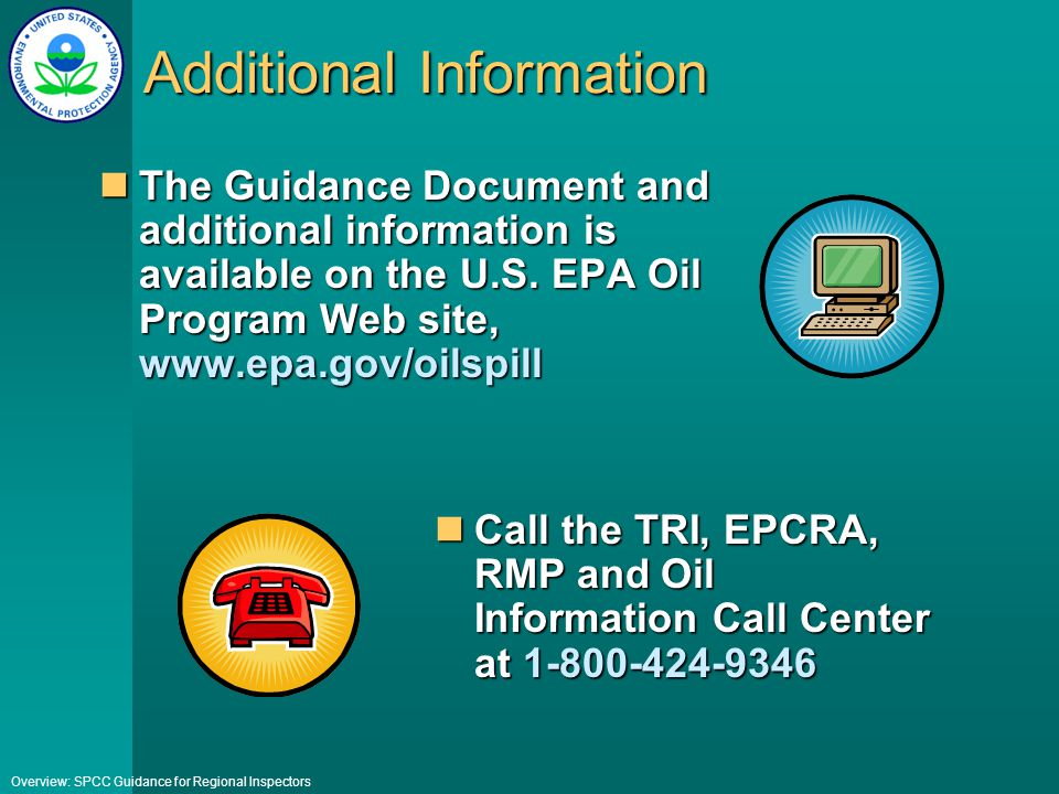 Epa spcc template the spcc rule and recent amendments ppt epa spcc plan template contegri com pronofoot35fo Choice Image