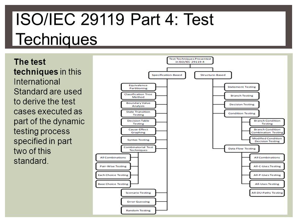 Software Testing Standards Isoiec Andvideo Online Download