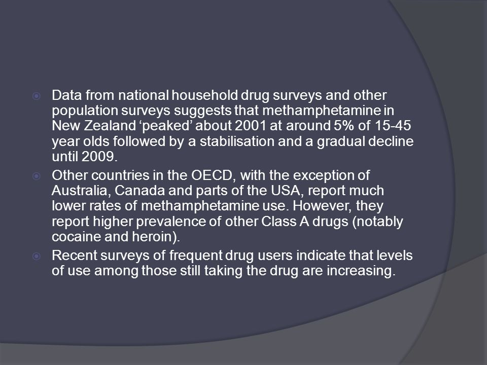 Methamphetamine drug class