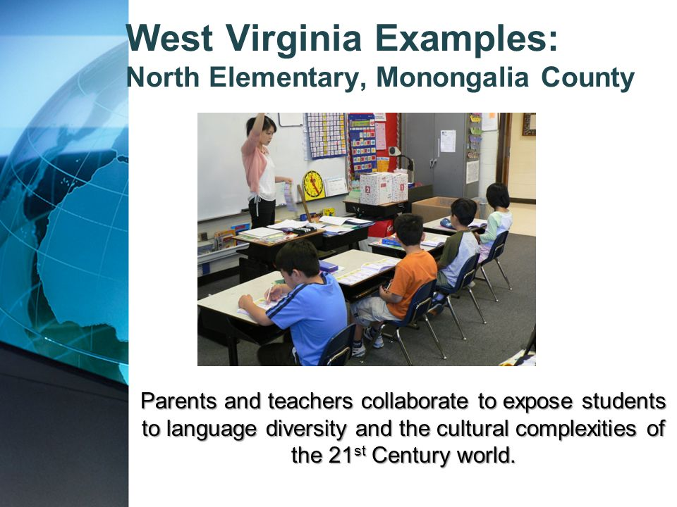 West Virginia Examples: North Elementary, Monongalia County