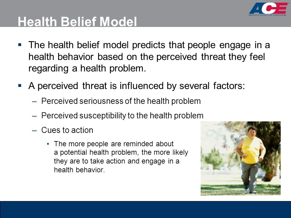 the health belief model pdf