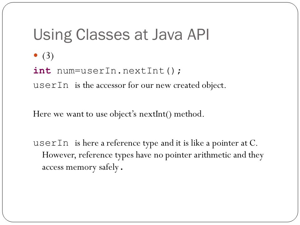 how to use nextint in java
