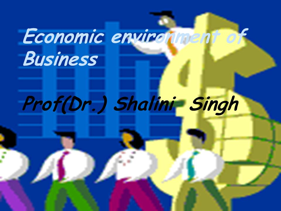 ppt presentation on economic environment of business