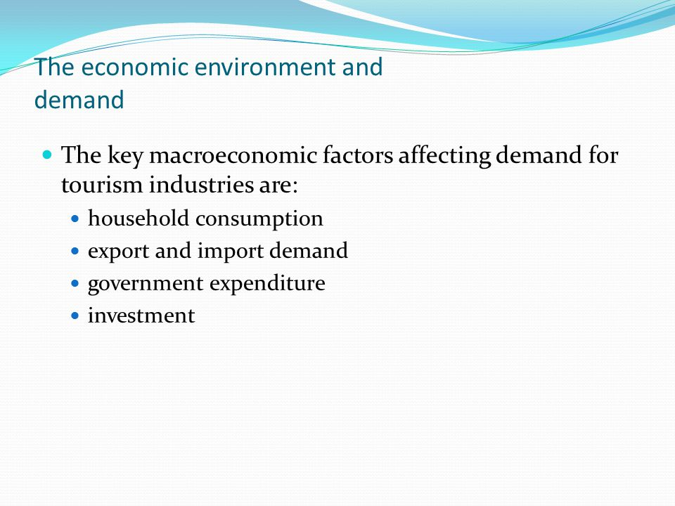 economic factors affecting tourism Wttc travel & tourism economic impact 205 foreword the world travel & tourism council (wttc) is the global authority on the economic and social contribution of travel & tourism.