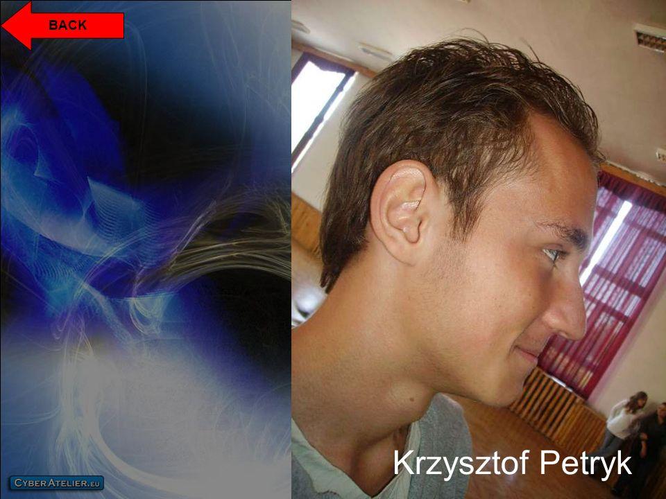 BACK Krzysztof Petryk
