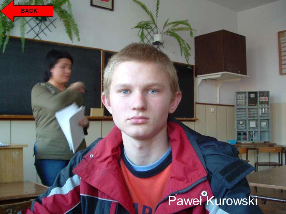 BACK Paweł Kurowski
