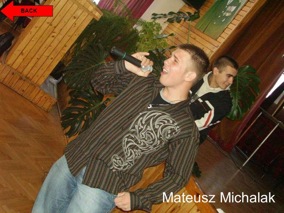 BACK Mateusz Michalak