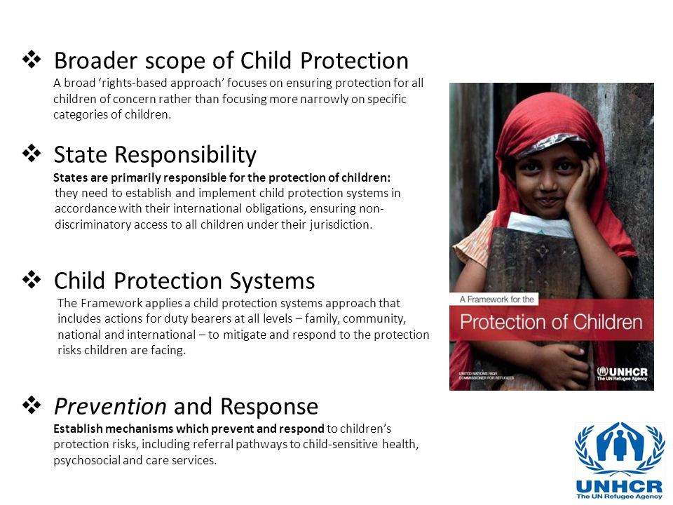 Broader scope of Child Protection