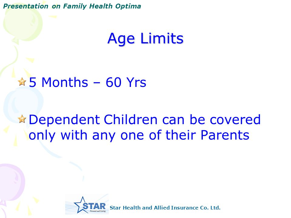 Presentation on FAMILY HEALTH OPTIMA - ppt video online download