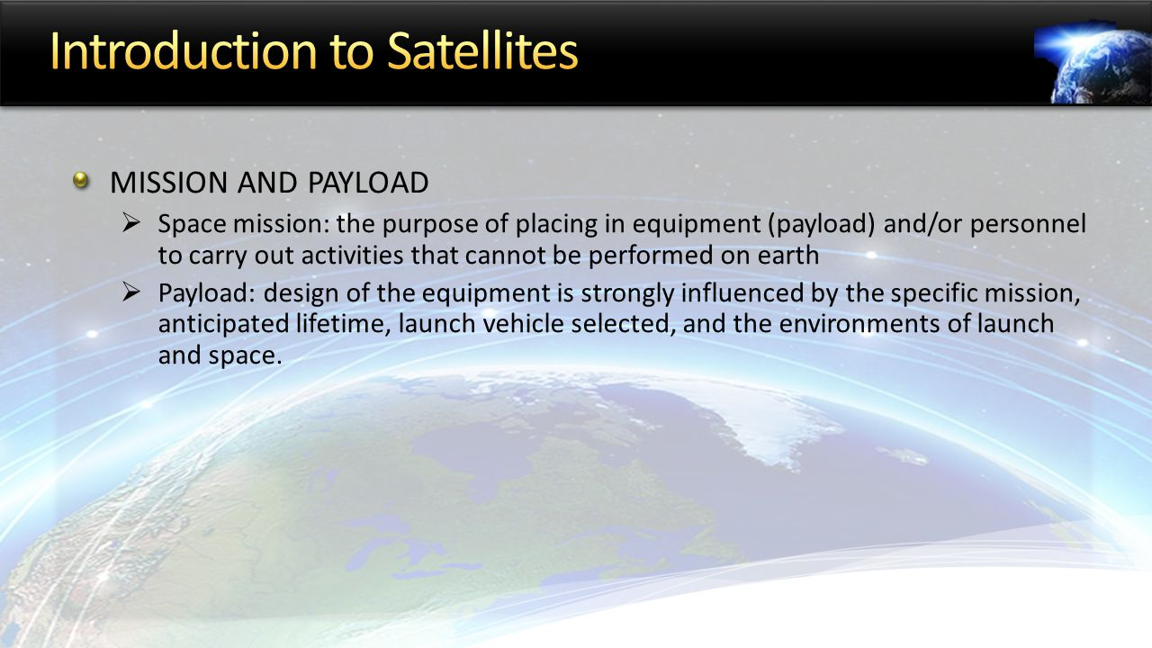 introduction to satellites The youngest of the major satellite applications is the field of satellite navigation this field of measurement and ranging through the use of satellite positioning systems first started in the context of scientific research this initial use of satellites was simply for positioning and.
