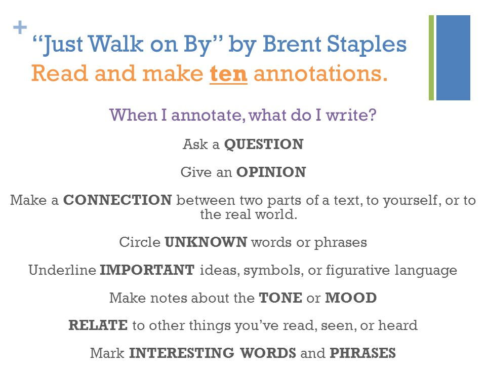 brent staples essays essays on just walk on by brent staples getting to be as tense a debate as essays on just walk on by brent staples getting to be as tense a debate as