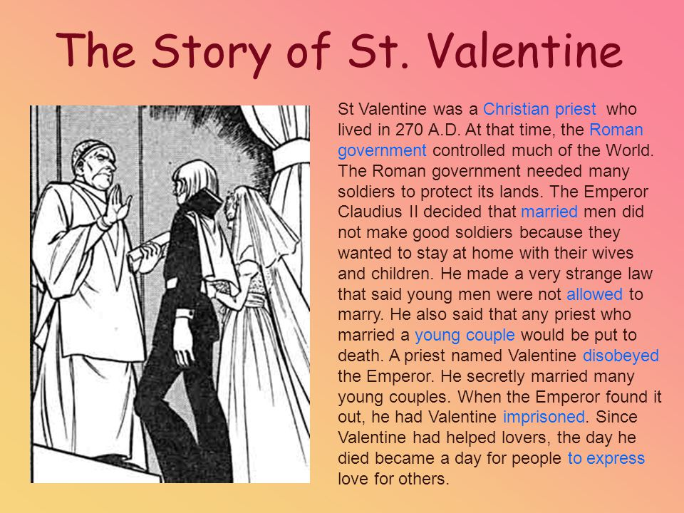 st. valentine's day february 14th. - ppt download, Ideas