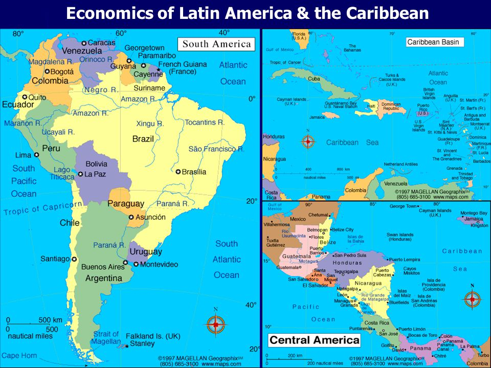 Economics of Latin America & the Caribbean