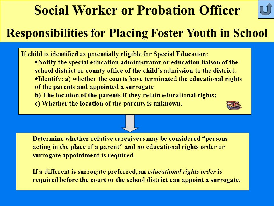 Social Worker Or Probation Officer