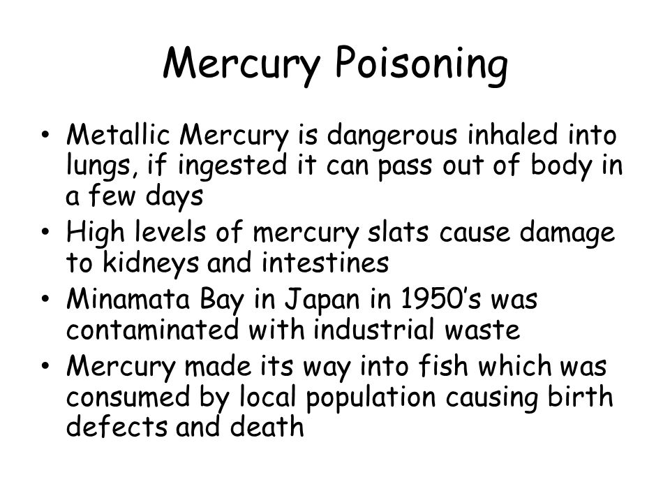 Environmental chemistry water ppt download for How does mercury get into fish