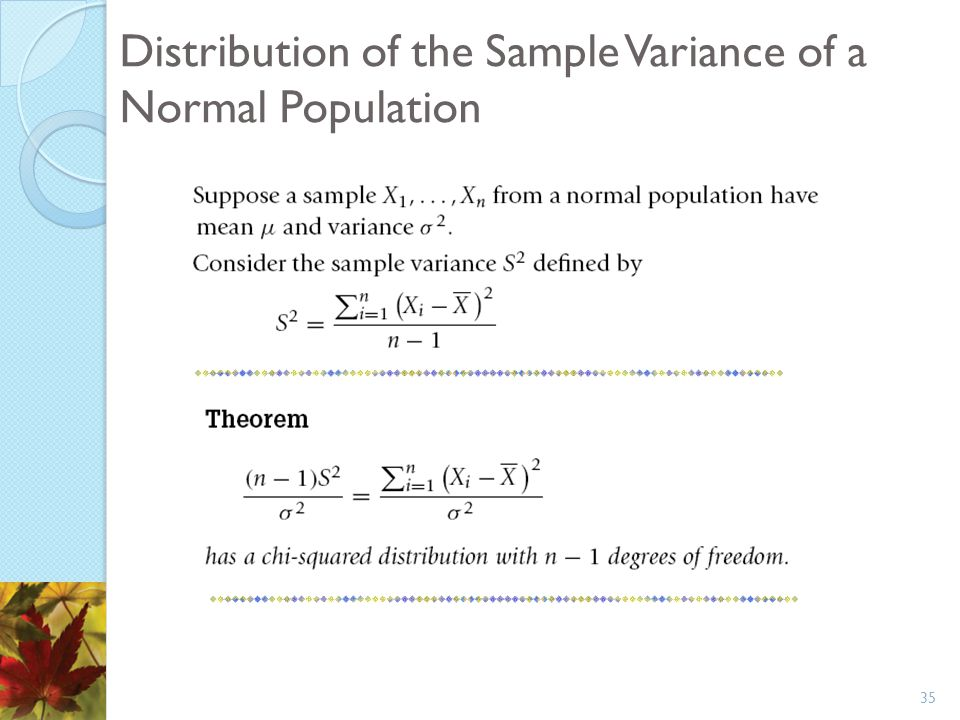 Chapter  Distributions Of Sampling Statistics  Ppt Download