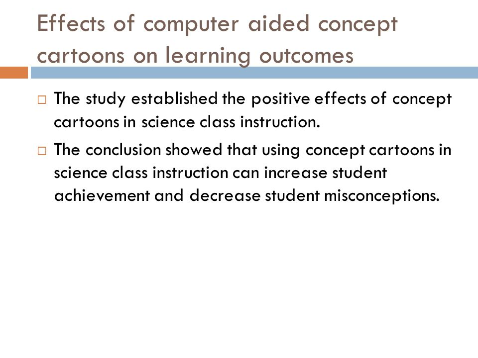 effects of computer to students Determining the effects of technology on children kristina e hatch  for computer curriculum corporation, students were found to produce more.