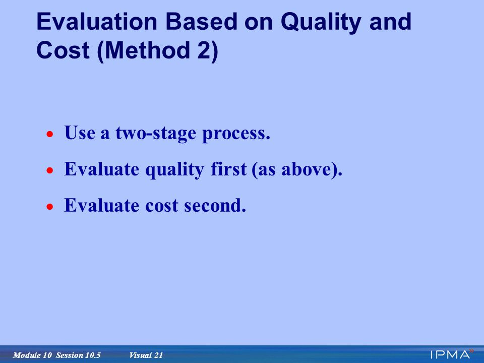 Code quality evaluation methodology