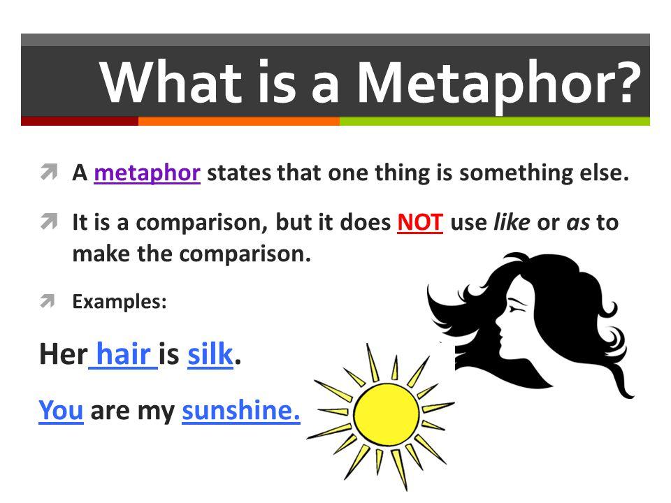 how to make a metaphor