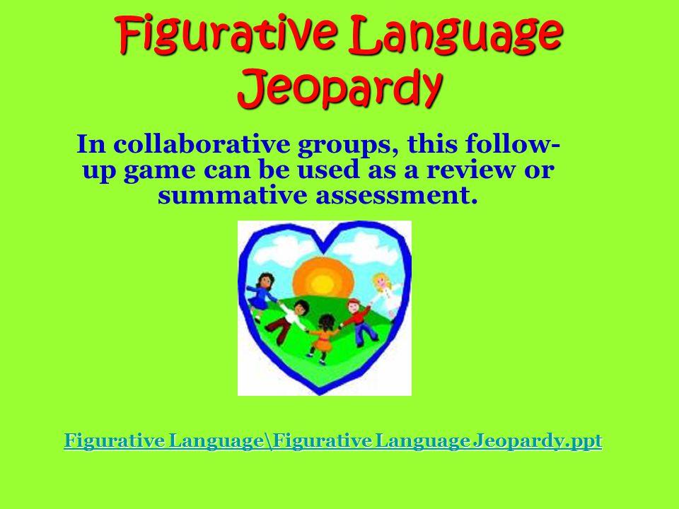 Figurative Language Trashketball Game  Ereading Worksheets