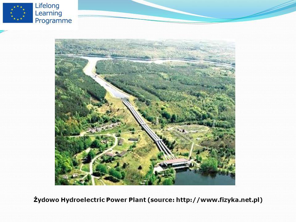 Żydowo Hydroelectric Power Plant (source: http://www.fizyka.net.pl)