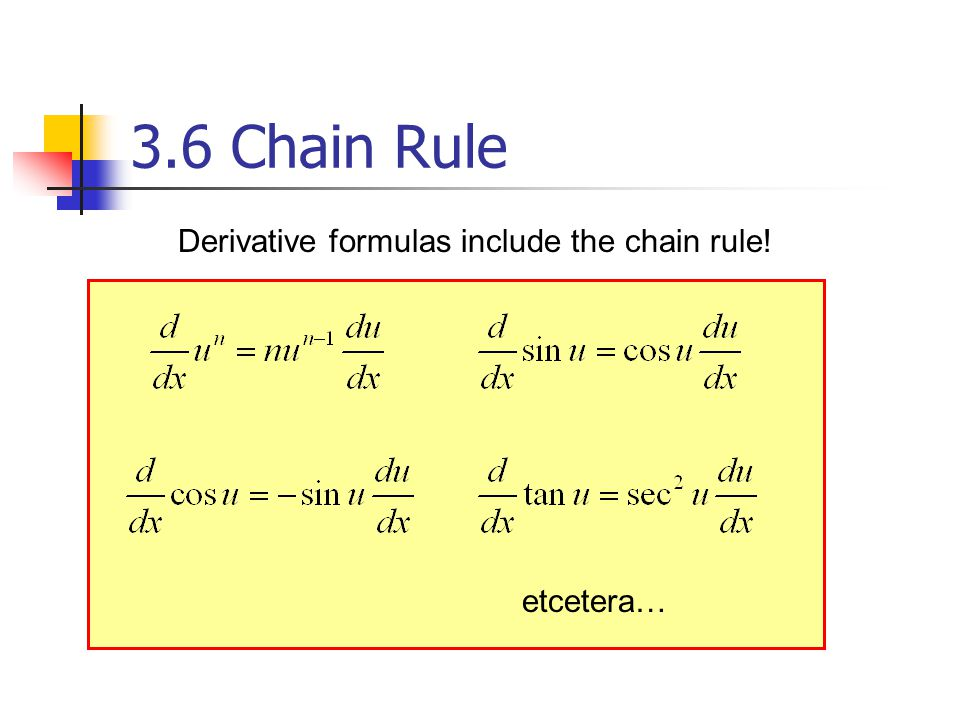chain rule differentiation examples pdf