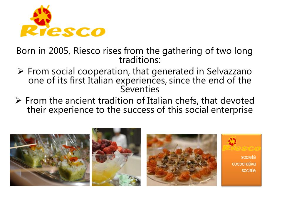 Born in 2005, Riesco rises from the gathering of two long traditions: