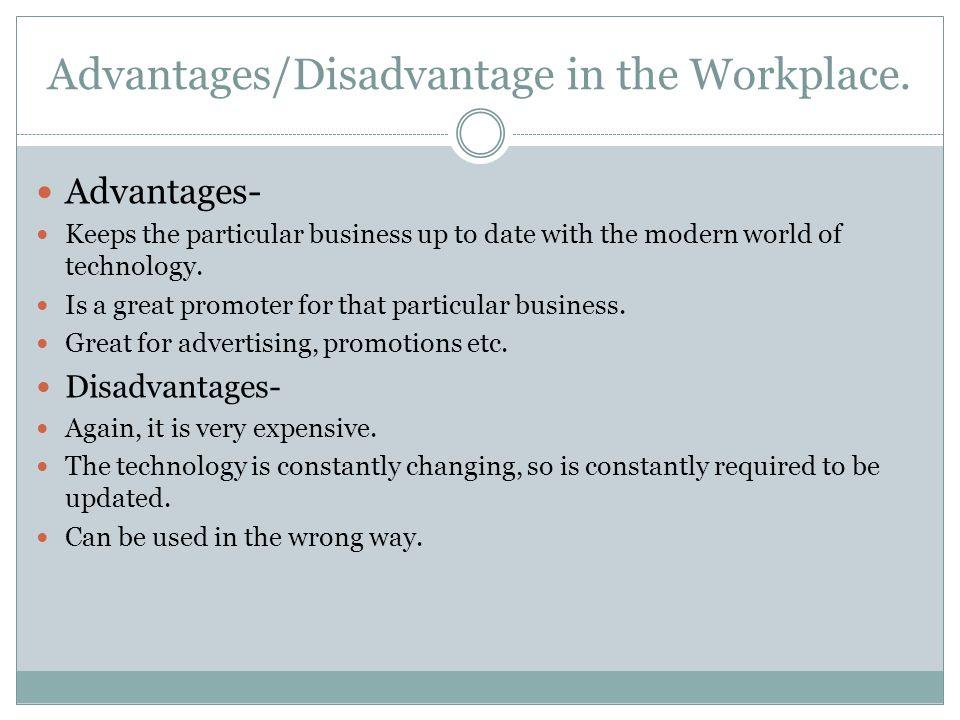 disadvantage of technology essay