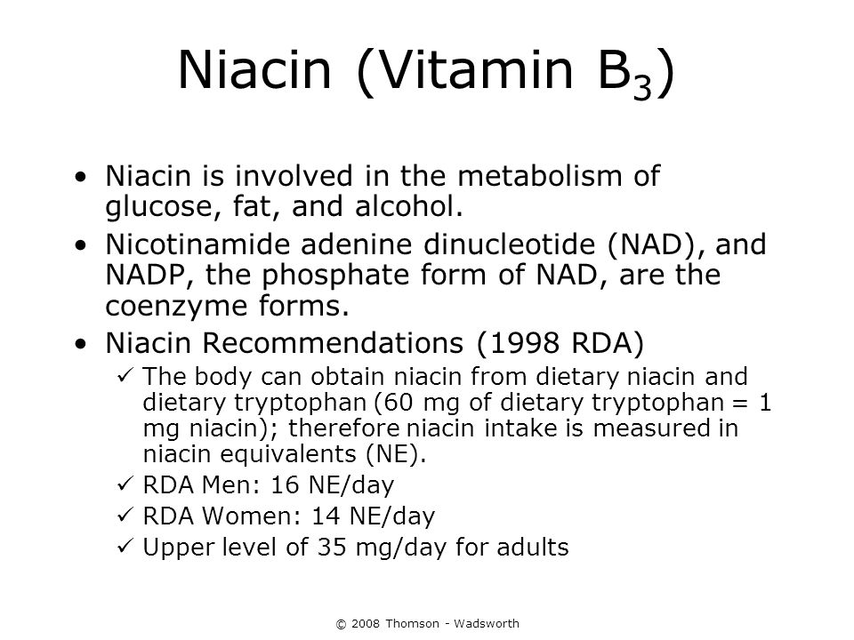 The Water-Soluble Vitamins: B Vitamins and Vitamin C - ppt download