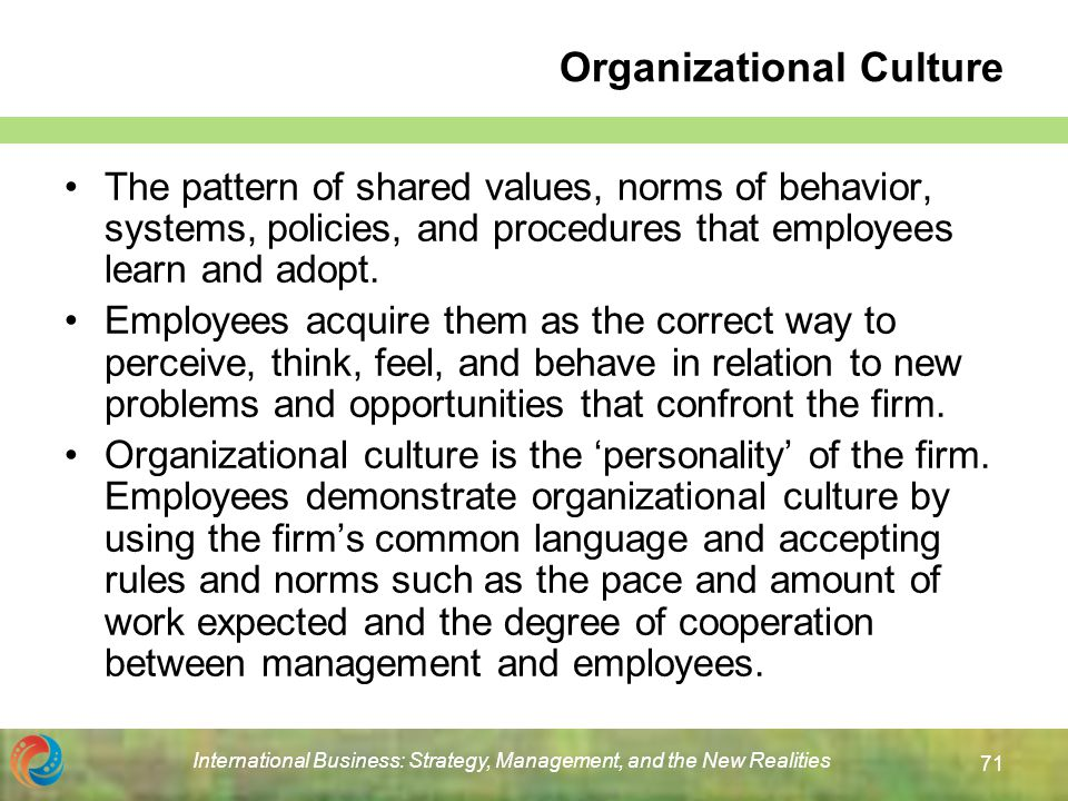 relationship between business strategy and organizational culture