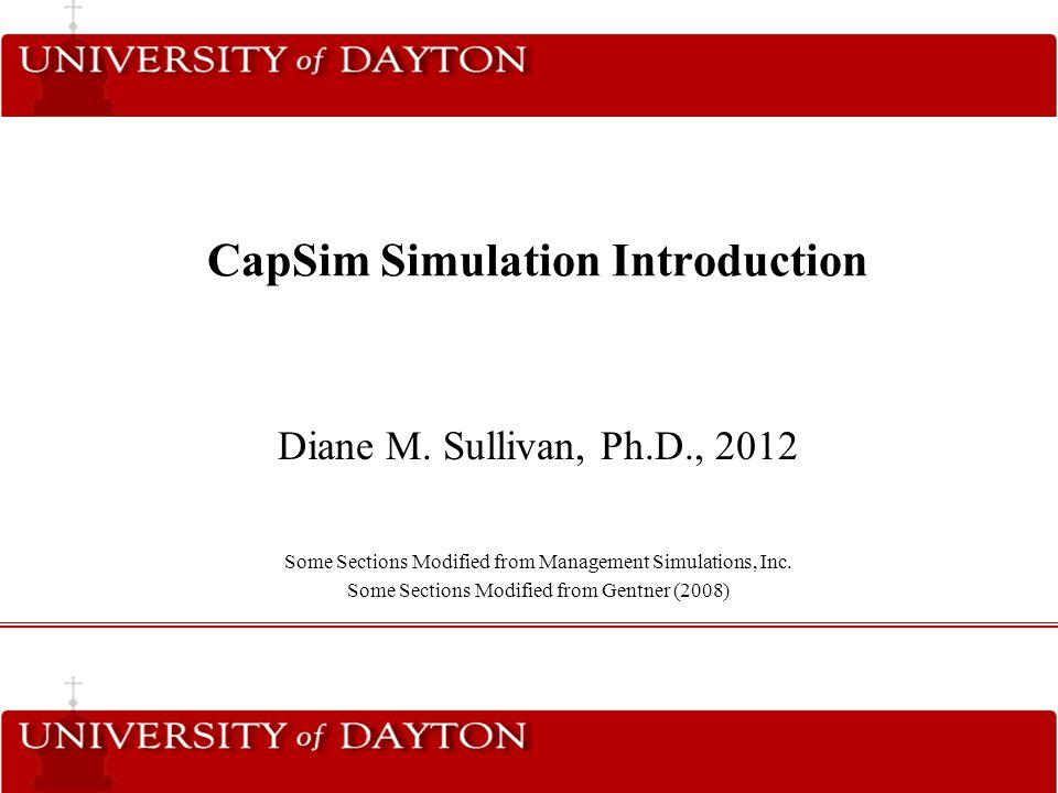 Capsim simulations | Custom paper Example - einsteinisdead com