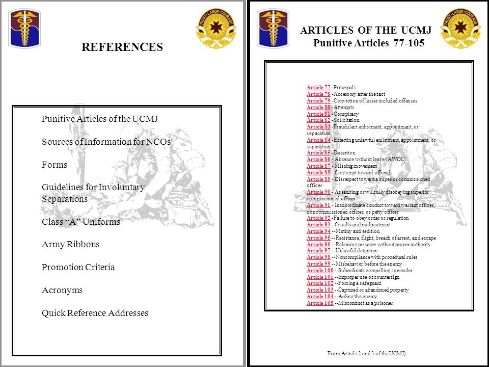 ucmj essay Volume 180 summer 2004  in 1950, congress passed the uniform code of military justice (ucmj),3 providing a comprehensive system of military justice applicable.