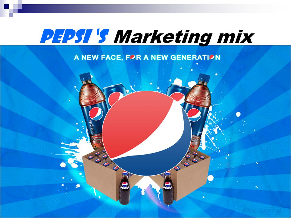 marketing communication mix of pepsi Marketing communication includes advertising, sales promotion, events and experiences (sponsorship), public relations and publicity, direct marketing, interactive marketing, word-of-mouth marketing, personal selling.