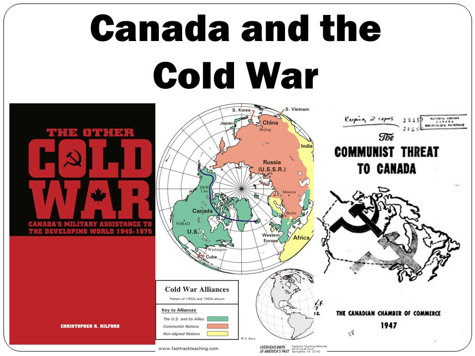 canada cold war thesis Free cold war papers, essays, and research papers.