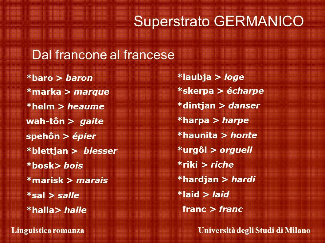 Superstrato GERMANICO