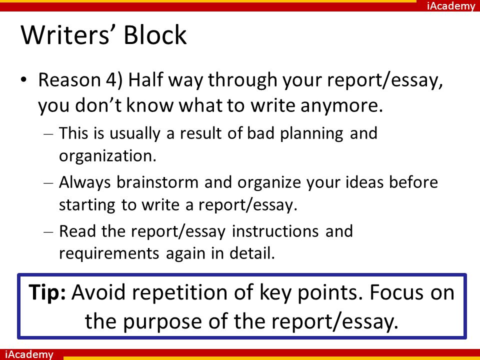college essays writers block Buy essays online from trusted custom writing service 100% original pay & get highest grades buy essays online from our service and get original papers that guarantee your academic.