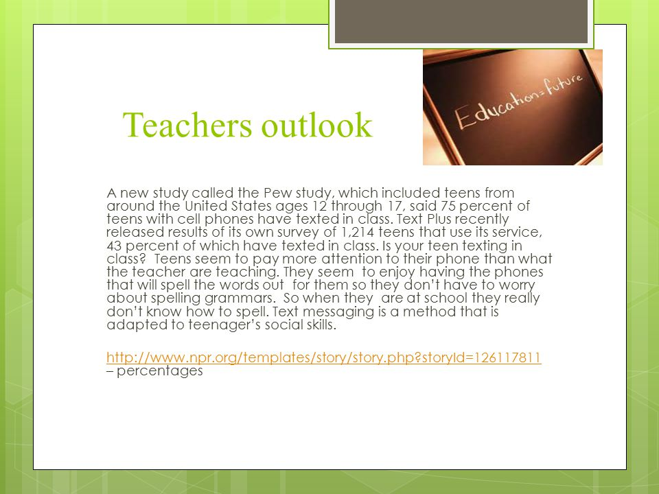 how is text messaging affecting teen literacy ppt video online  3 teachers